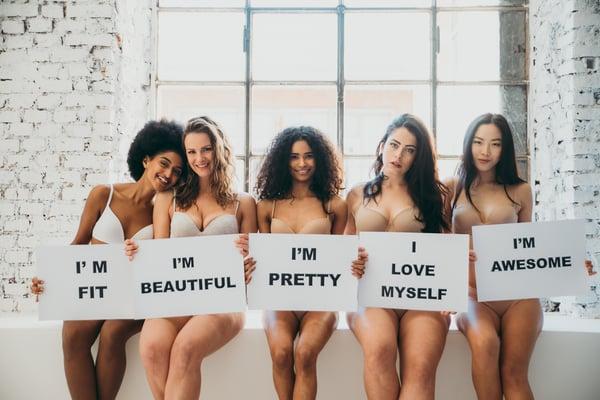 Body positivity: een gezonde geest in een gezond lichaam