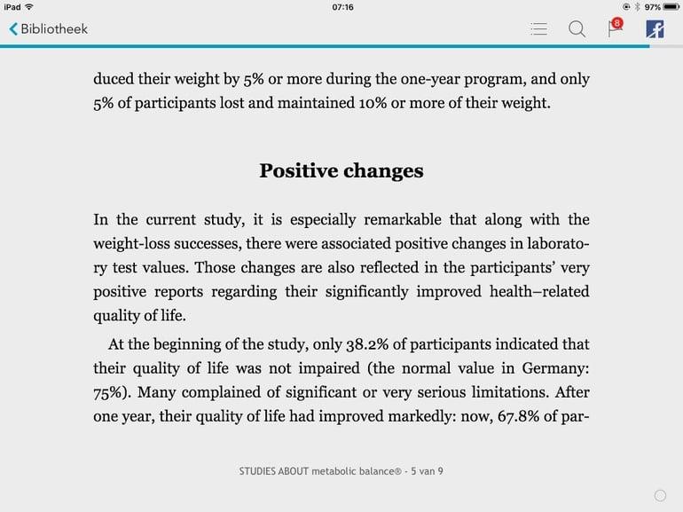 Boekje over Metabolic Balance