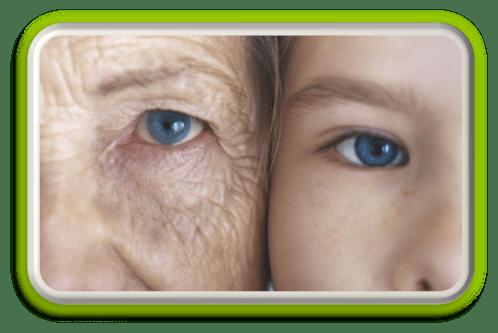 Jonge en oude vrouw - lever