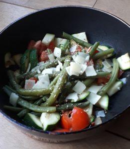 groenten met kaas