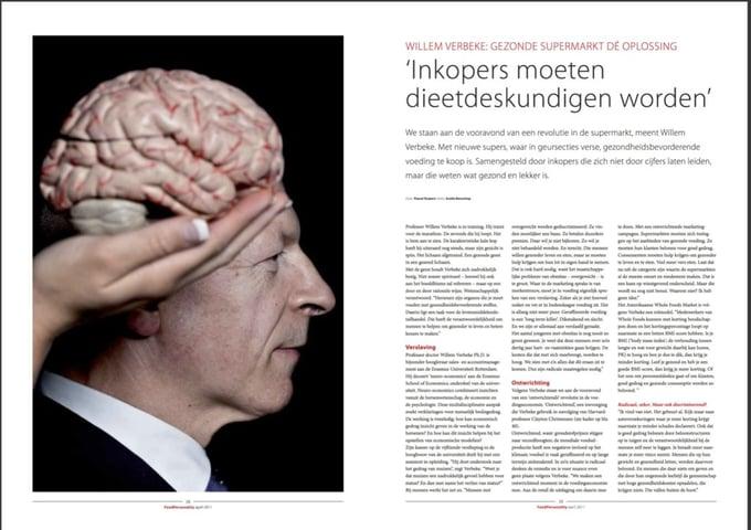 """Willem Verbeke zegt: """"ALs ik een manager zie met een BMI van 28, dan weet ik dat die persoon niet langer dan 2 jaar op die plek zal zitten...."""