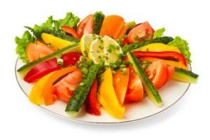 bord-groenten - 1kg groente per dag