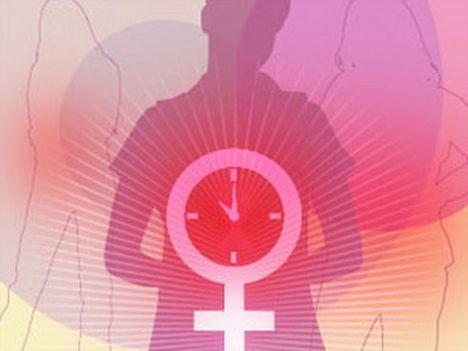 Vrouw tijdens de menopauze