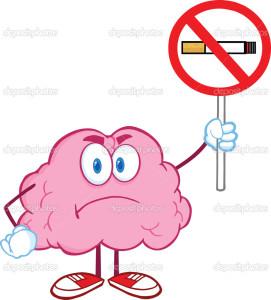 wat doet roken met je hersenen