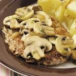 Kalfsvlees met champignon jus