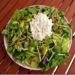 Salade met hüttenkäse