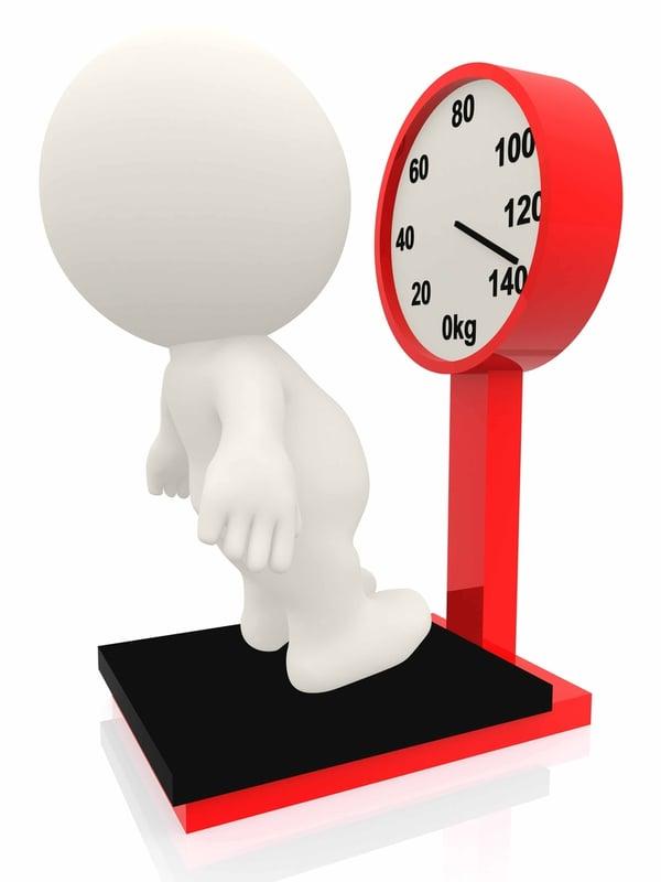 de trage schildklier kan overgewicht veroorzaken