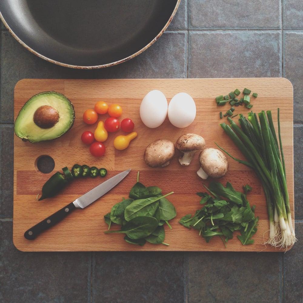 Gezonde voeding is vers en onbewerkt