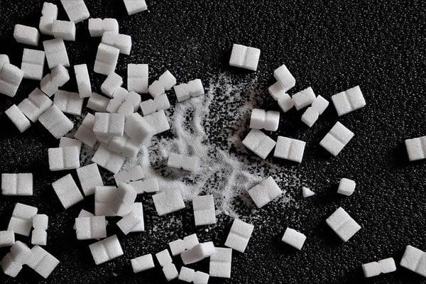 suiker heeft een slechte invloed op het lichaam