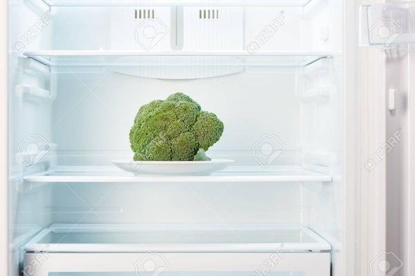 brocolli koelkast