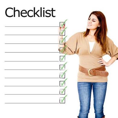 checklist 3-1