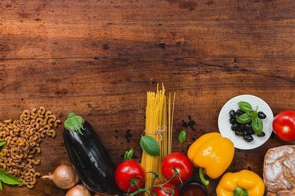 verse groente is belangrijk tijdens het afvallen