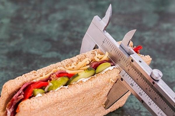 dieet, minder veel eten