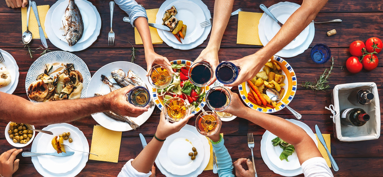 Eten buiten de deur tijdens je dieet