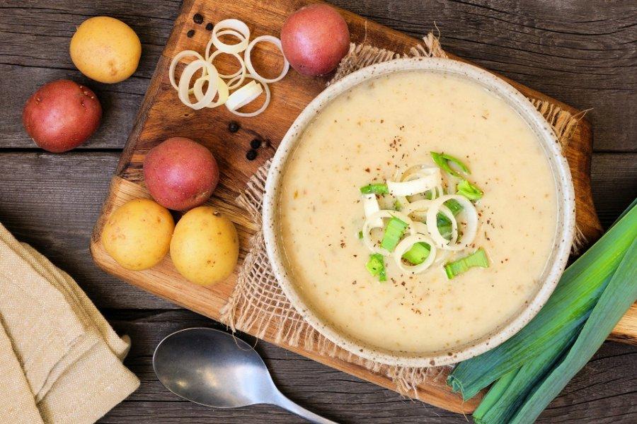 Aardappel soep