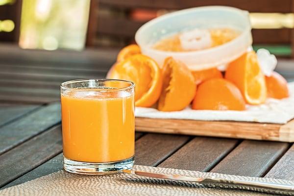 vruchtensap - sinaasappelsap