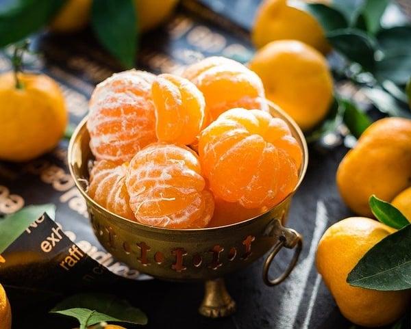 gezonde voeding met groente en fruit