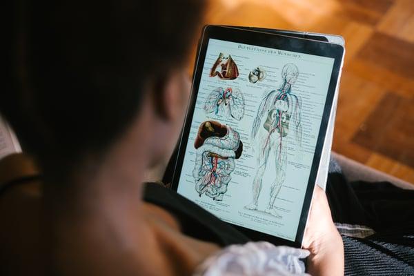 onderzoek lichaam en opzoeken wat de oorzaken zijn van fibromyalgie