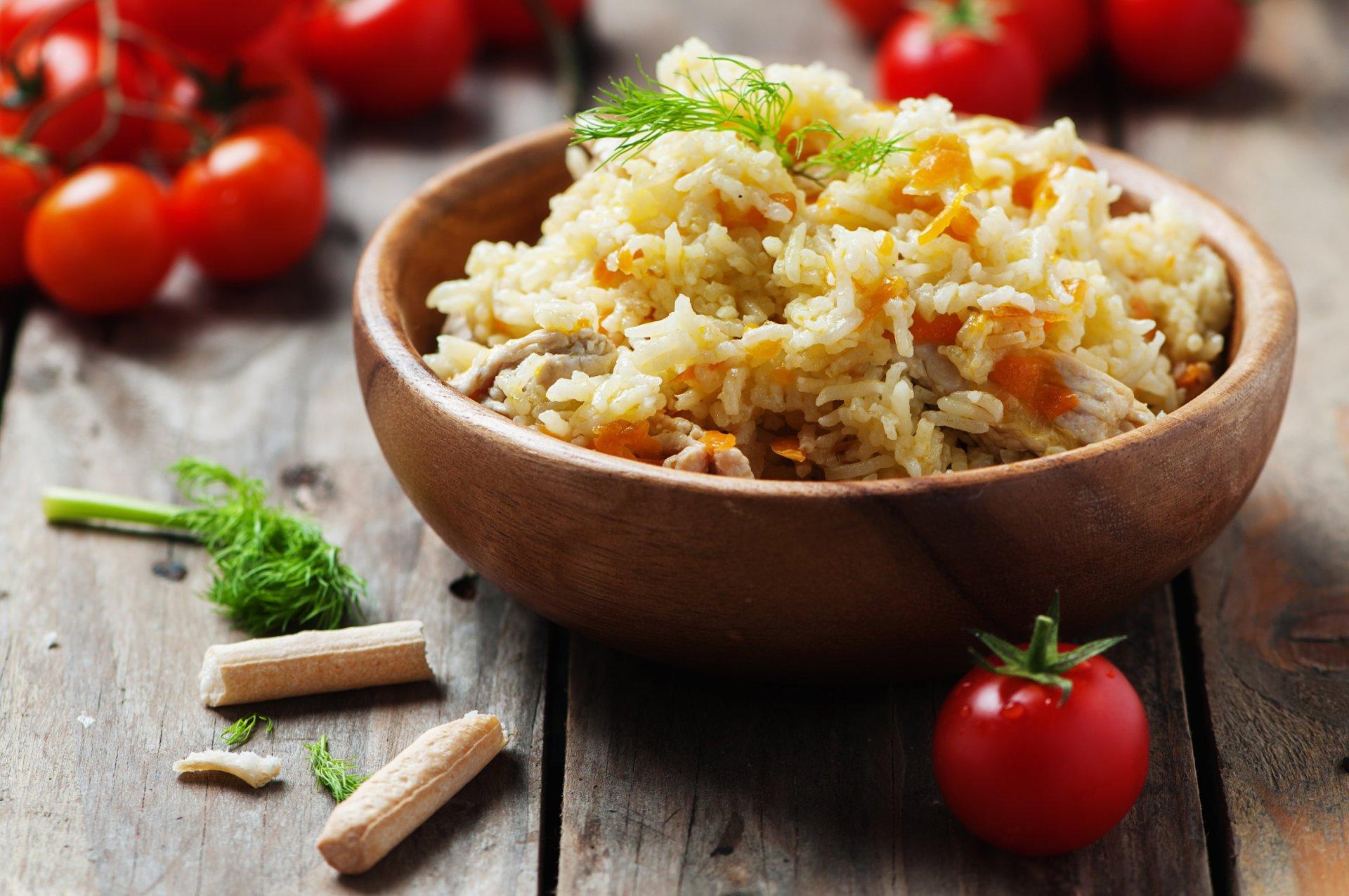 Gebakken pittige rijst