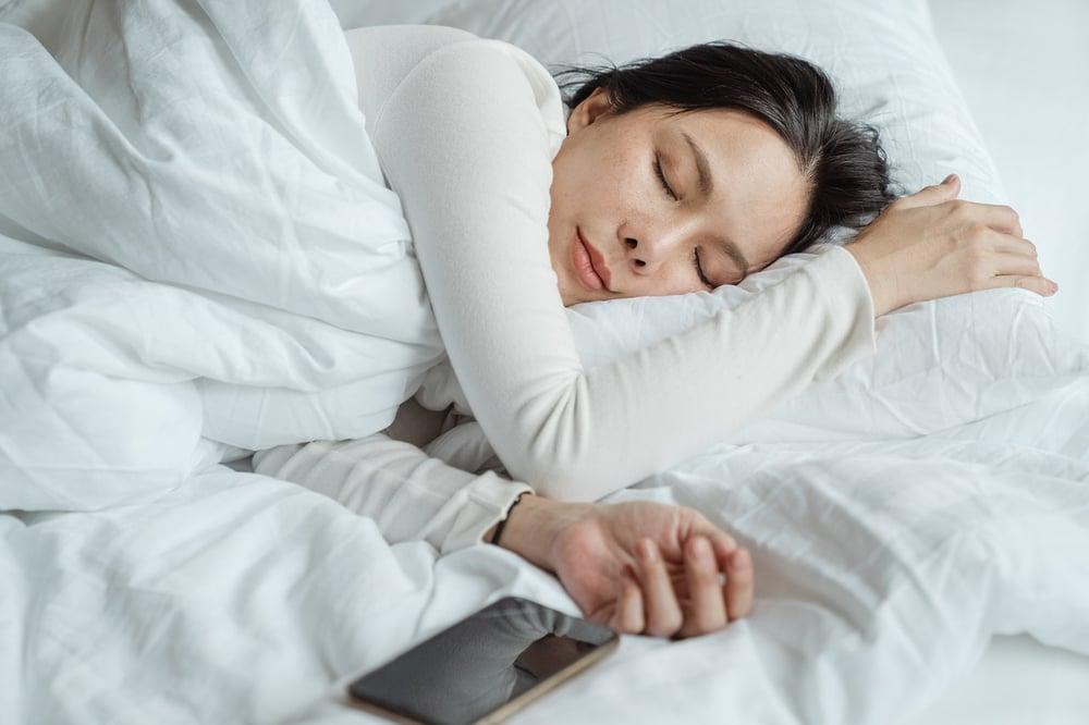 slapen en afvallen