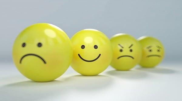 verschillende emoties