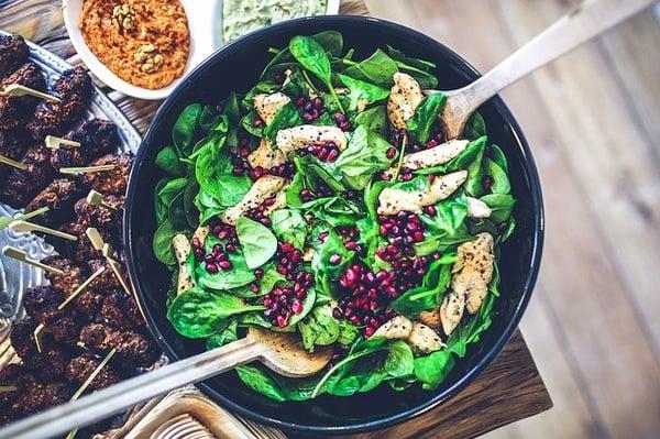 eet gezonde voeding