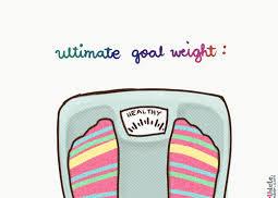 streefgewicht bereiken