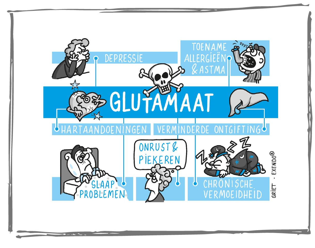 wat glutamaat doet